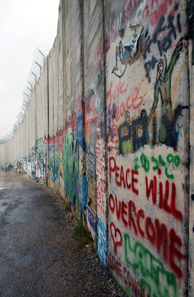 The Separation Wall. Jerusalem, 2011. By Clara FIgueras