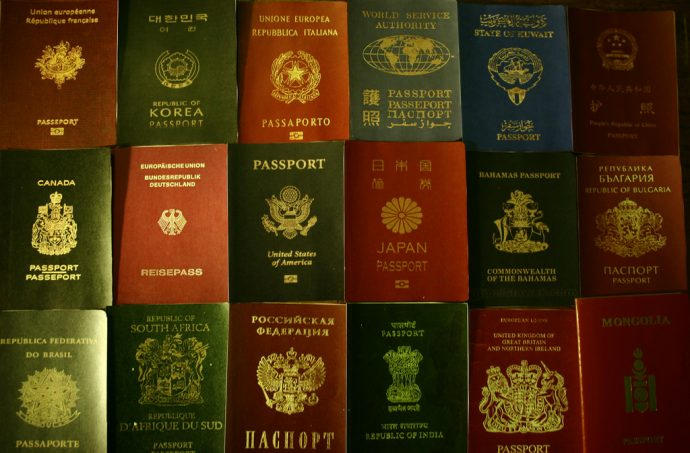 Passport Colors by Baigal Byamba via Flickr Creative Commons