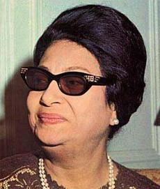 Umm Kulthum, Photo from Hiba Music
